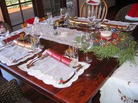 West Australian Christmas table