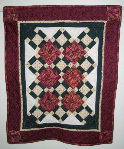 Completed Mayflower quilt