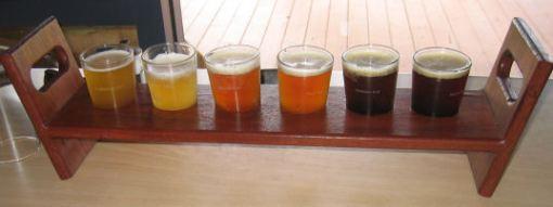 Beer tastingrack