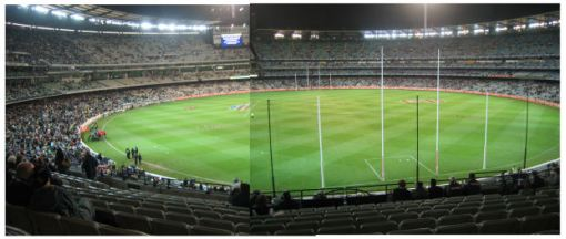 MCG before the game