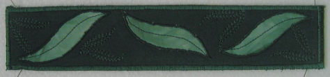 Gum leaf bookmark