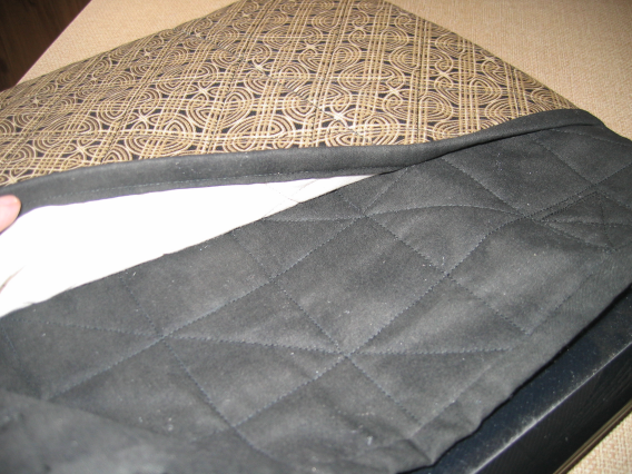 Quilted laptop bag (5/6)