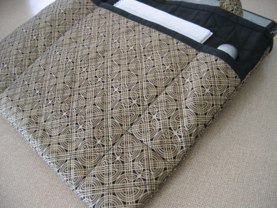 Quilted laptop bag (1/6)