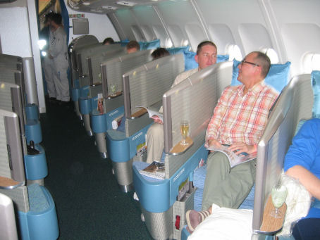 'Sarcophagus' seats on Cathay Pacific