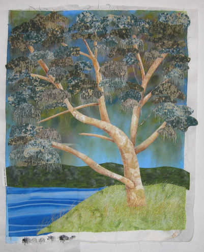 My fabric tree