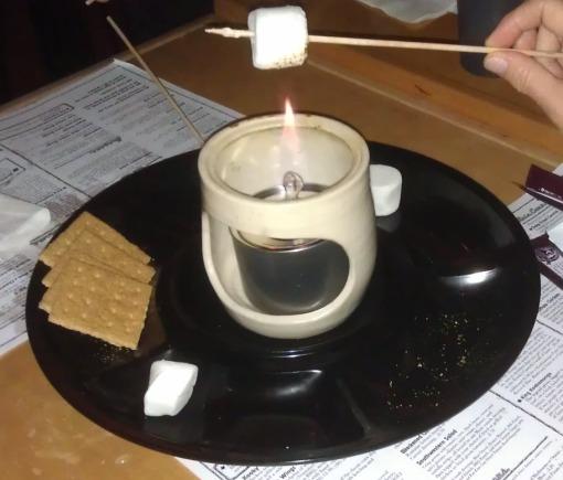 Toast the marshmallow