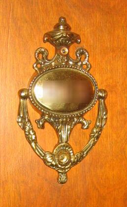 Room number/knocker