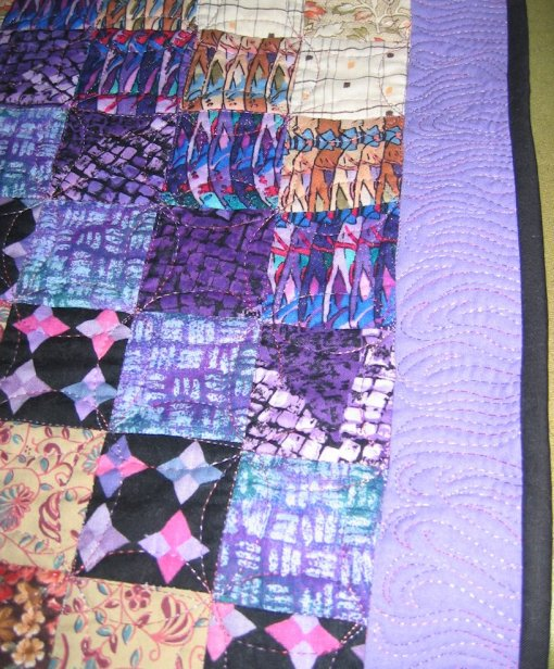Quilt 2 - front, showing border