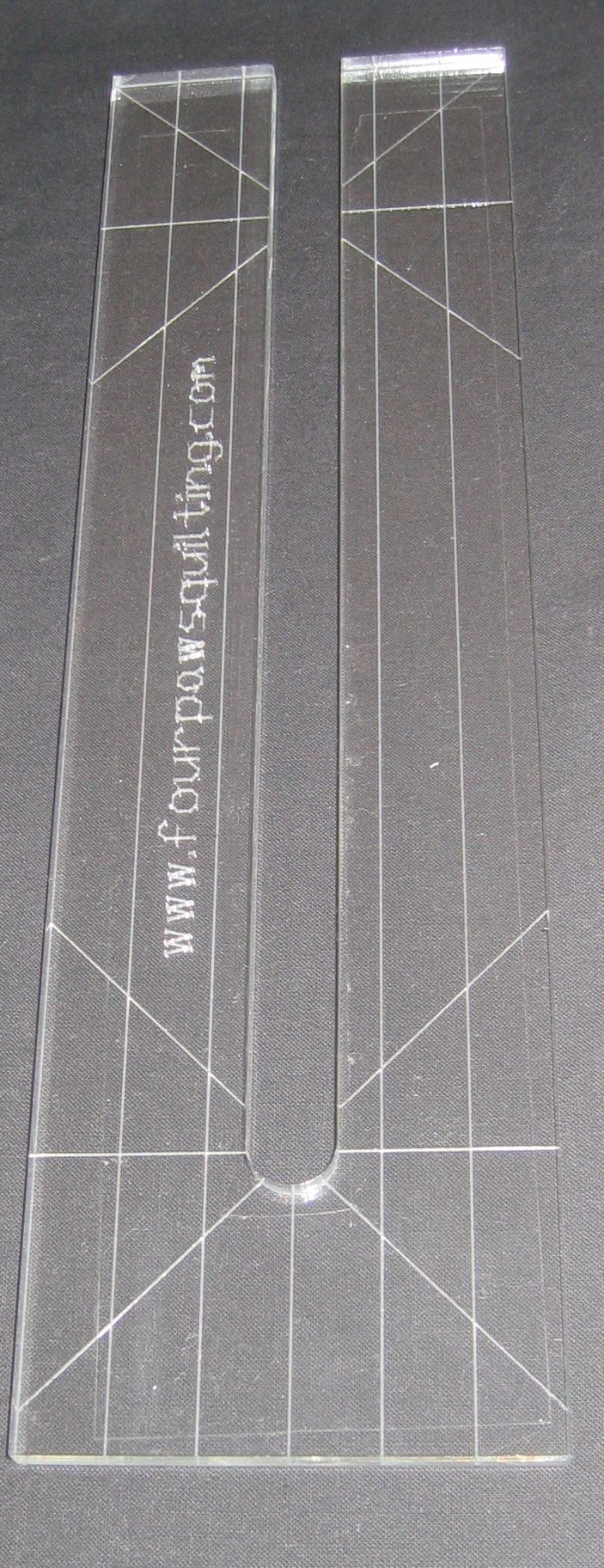 Using The Line Tamer Ruler With The Handi Quilter Sweet