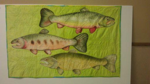 Trout quilt