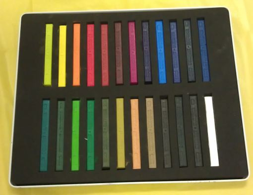 Derwent Inktense sticks