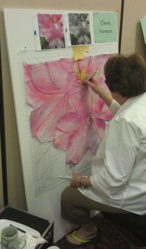 Cherrie discovering the power of Copic Sketch Markers