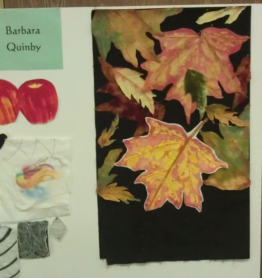 Barbara's autumn leaves