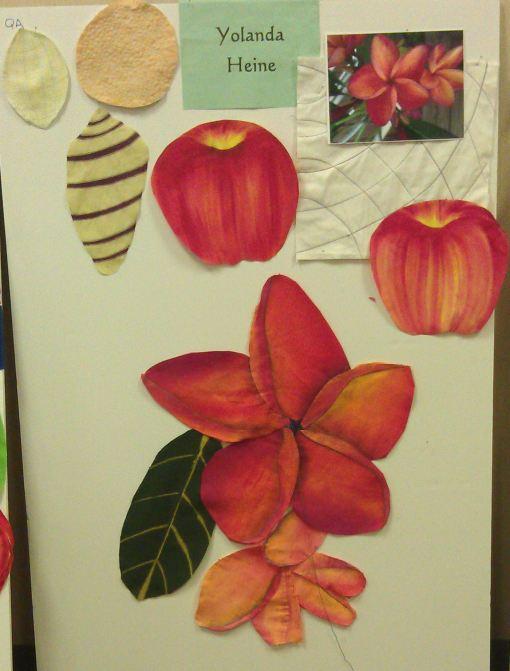 Yolanda's frangipani (plumeria)