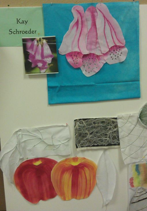 Kay's foxgloves
