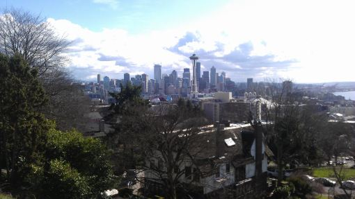 View of Seattle ffrom Kerry Park