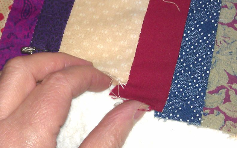 Using Elmer's washable school glue on quilts | Rhonda Bracey: At Random