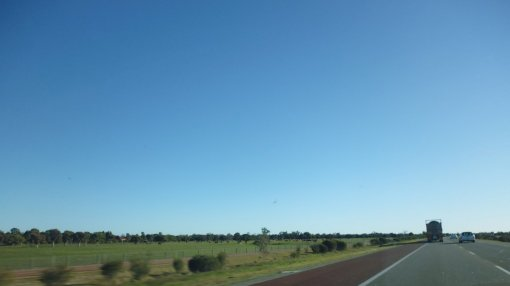 Heading towards Perth on Forrest Highway