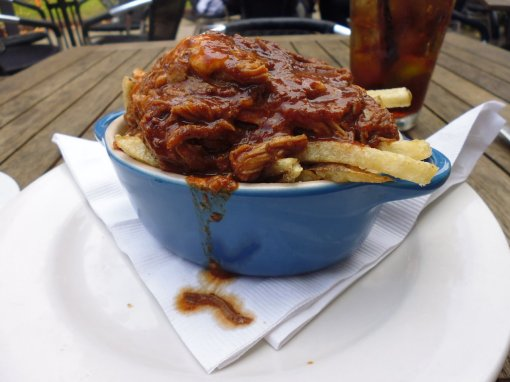 Poutine with pulled pork!