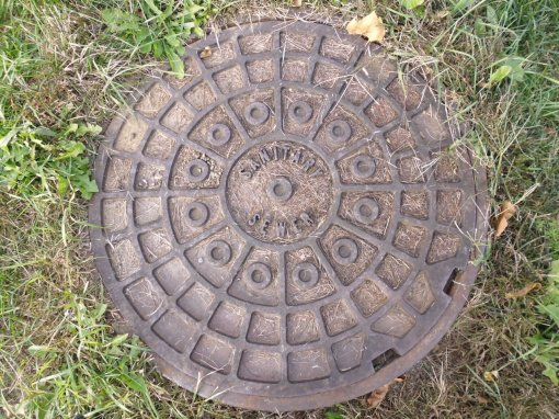 Ah! Our friend, the sanitary sewer!