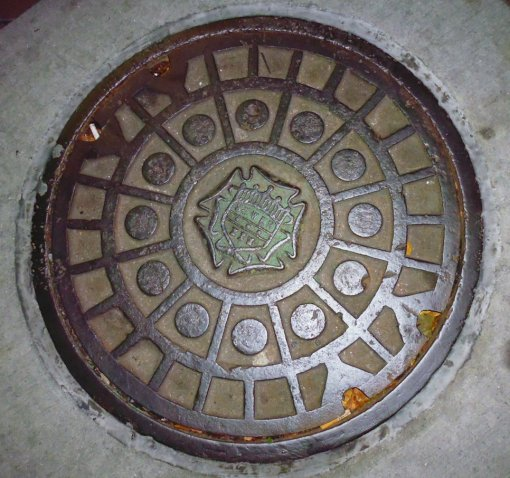 Look carefully -- this was our XXX-rated sewer