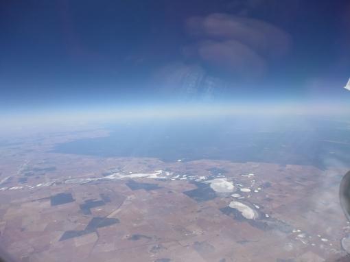 Salt lakes in the Western Australian wheatbelt