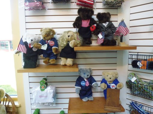 Political bears from the 2016 Presidential election campaign