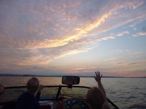 Goodbye sun, goodbye Vermont