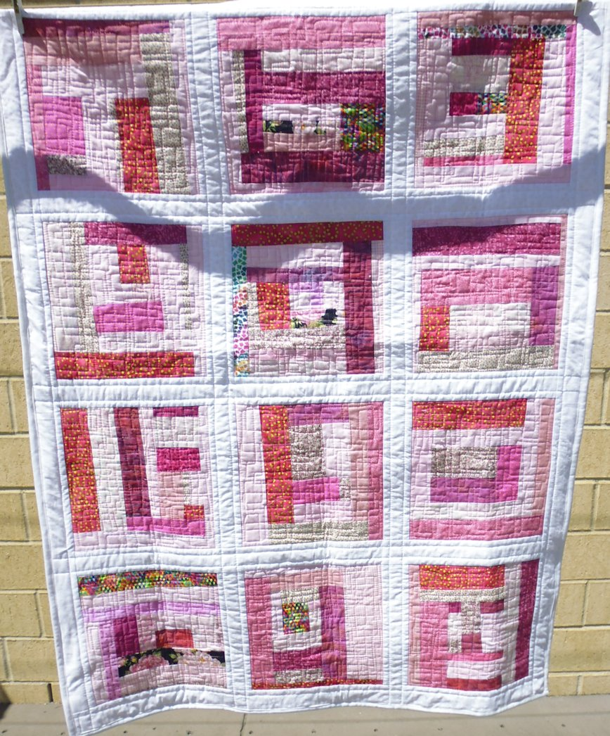 Pink Quilts For Donating To The Mcgrath Foundation Rhonda